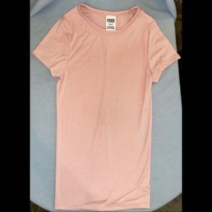 VS PINK Fitted Tee Shirt - fits like a SMALL